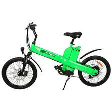 350w 20'' Green Electric City Bicycle E-Bike W/ 36V10ah Li-Ion Battery Seagull