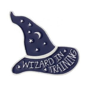 Wizard in Training 3D Enamel Pin Badge / Brooch - Harry Potter Style Pin Badge