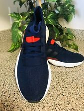 Adidas Boost running shoes Sneakers Dark Blue/Red Size ~9 US NEW