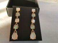 Celestial Pink Drop Earrings