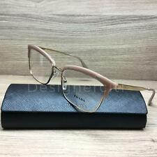 Prada VPR08S Eyeglasses Blush Gold UEC-1O1 Authentic 55mm