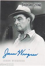 TWILIGHT ZONE SERIES 4 SCIENCE & SUPERSTITION A76 JASON WINGREEN AUTOGRAPH VER 1