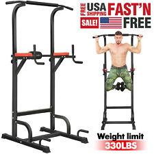 BangTong&Li Power Tower Workout Pull Up Dip Station Home Gym Exercise Equipment