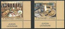 Bosnien-Herzegowina aus 2005 ** postfrisch MiNr.327-328 A - Europa: Gastronomie!