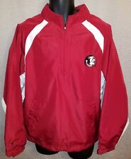 Florida State Seminoles Garnet Windbreaker Jacket NWT - Mens Medium