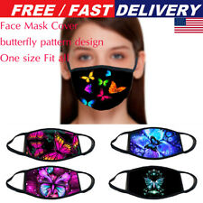 Funny 3D Butterfly Washable Face Mask Face Covering Mouth Hip Hop Cosplay Party