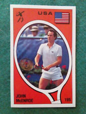 Sticker Figurina Adesivo Panini Supersport JOHN MCENROE n.195 1988 RARA!!