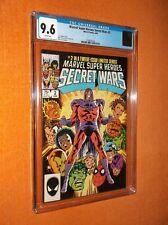 MARVEL SUPER HEROES SECRET WARS #2 CGC {Avengers; FF; Hulk; Spider-Man; X-Men}