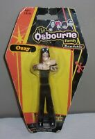 2002 THE OSBOURNE FAMILY Ozzy Osbourne Rock N Roll Bendable Toy Figure