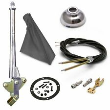 11 Trans Mnt Emergency Hand Brake  Grey Boot, Black Ring, Cap and Cable Kit