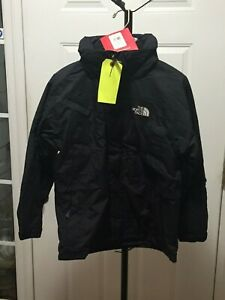 North Face Talkeetna HyVent Parka Jacket Boys Small or Med blk or red you choose