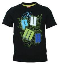 T-shirts et hauts noirs avec des motifs Graphique pour garçon de 2 à 16 ans