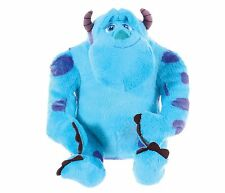 "OFFICIAL BRAND NEW 12"" SULLEY MONSTERS INC UNIVERSITY SULLY SOFT TOY PLUSH"