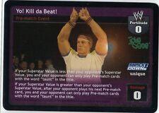 Wwe Wwf Raw Deal Ccg Yo! Kill da Beat! John Cena champ New mint Divas Overload