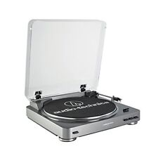 Audio Technica AT-LP60 Fully Automatic Stereo Turntable System, Silver - NEW