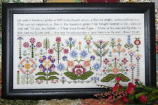 Beauteous Garden Sampler Rosewood Manor Kluba Cross Stitch Pattern