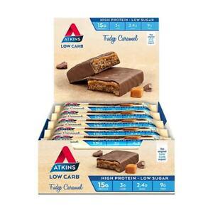 Atkins Advantage Bar (Fudge Caramel) 60g X 15