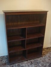 Dark Oak British Handmade Bookcase