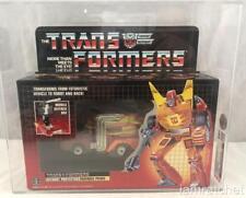 Transformers Original G1 CAS 80 Y Rodimus Prime MOSC MIB 80/85/85