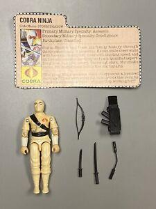 Storm Shadow 1984 GI Joe ARAH Hasbro Vintage Figure GIJOE