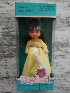 Vintage - Rosebud - A Baby Gold Star Rose Doll - Mattel #9784 -1976 NRFB