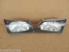 Toyota Starlet EP91 Glanza OEM Black Headlights Head Lights