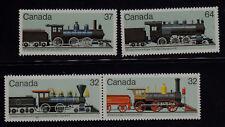 CANADA SCOTT# 1036-1039 MNH STEAM LOCOMOTIVES