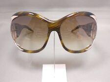 Original Roberto Cavalli Sonnenbrille Ossidiana 455S Farbe 56P Braun Gold Strass