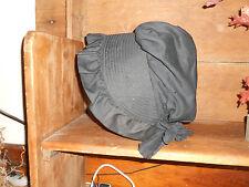 Early Antique Primitive Black Bonnet 1800s?