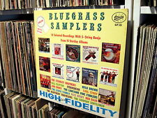 BLUEGRASS SAMPLERS *STARDAY SLP 183* NM VINYL LP