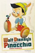 Pinocchio 1940 Disney cult movie cartoon poster print #17