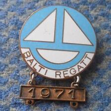 INTERNATIONAL REGATTA BALTI SAILING YACHTING TALLIN ESTONIA 1971 PIN BADGE