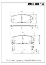 Napa TruStop D275 Semi-Metallic Brake Pads