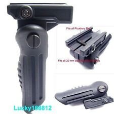 Folding Vertical Foregrip Hand Fore Grip 20mm Picatinny Weaver Rail For Airsoft