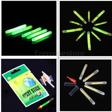 5/10/50/100 Fishing Carp Lure Low Sticks Night Light Starlights Float Rod Tip 25mm Long 100 Pcs