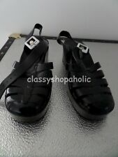 New Look Black Jelly Sandals - Size 6 - BN