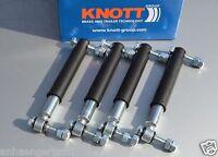 4 x Stoßdämpfer Anhänger original KNOTT 990001 Achsstoßdämpfer 100 km/h 4er Set