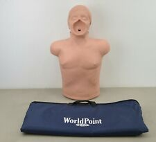 Simulaids Adult CPR Training Airway Torso Manikin EMT w/ Carry Bag (L22)