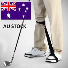 Golf Swing Practice Training Aids Leg Brace Band Strap Posture CorrectorTrainer^