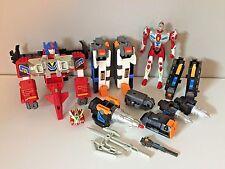 Superhuman Samurai Syber Squad Toy Lot 1994 Playmates Toys Zenon Servo