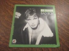 45 tours DEN HARROW bad boy