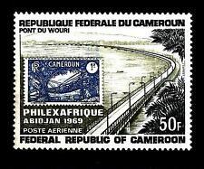 """CAMEROUN - CAMERUN (REP. INDIP.) - PA - 1969 - Espos. Filat. """"Philexafrique"""""""