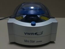 Microcentrifuge MiniStar silverline bench centrifuge VWR 2 ml rotor.