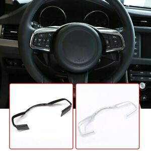 ABS Steering Wheel Decorative Frame Trim For Jaguar XE XF F-Pace X761 X760 X260