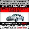 # OFFICIAL WORKSHOP Repair MANUAL for BMW SERIES Z3 E36/7 1997-2002 WIRING #