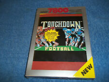 BRAND NEW ( NOS ) IN FACTORY SEALED & S/W BOX ATARI 7800 TOUCHDOWN FOOTBALL GAME
