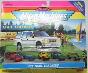 Galoob Micro Machines #37 Trail Trackers 75030 Factory Sealed 1995 VHTF #D42