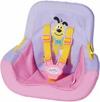 Zapf Creation Baby Born Car Seat Travel Chair For 43cm Dolls Doll Playset