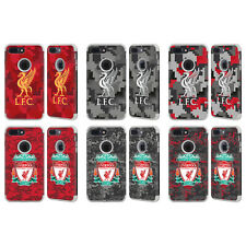 LIVERPOOL FC LFC DIGITAL CAMOUFLAGE GREY GUARDIAN CASE FOR APPLE iPHONE PHONES