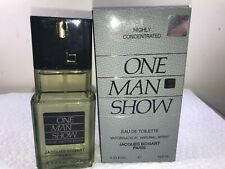 ONE MAN SHOW HIGHLY CONCENTRATED by Jacques Bogart Cologne 3.3 / 3.4 oz  (B20)